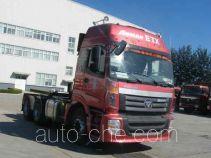 Foton Auman BJ4253SNFKB-XK седельный тягач для перевозки опасных грузов