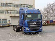 Foton Auman BJ4259SNFCB-AA dangerous goods transport tractor unit