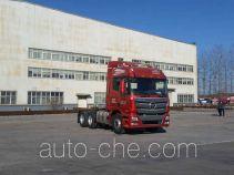 Foton Auman BJ4259SNFKB-XL седельный тягач для перевозки опасных грузов