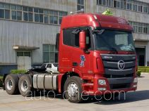Foton Auman BJ4259SNFKB-XM dangerous goods transport tractor unit