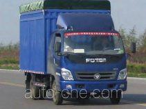 Foton BJ5041V8CEA-S2 soft top box van truck