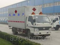 BAIC BAW BJ5044XWY51 explosives transport truck