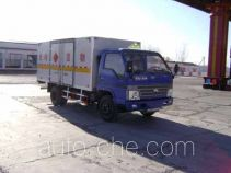 BAIC BAW BJ5044XWY53 dangerous goods transport vehicle