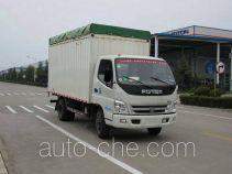 Foton BJ5049CPY-BF soft top box van truck