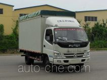 Foton BJ5049CPY-BG soft top box van truck