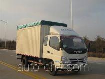 Foton BJ5049CPY-FB soft top box van truck