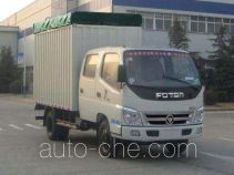 Foton BJ5049V8DDA-4 soft top box van truck