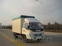 Foton BJ5049V9CBA-3 soft top box van truck