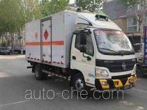 Foton BJ5049XRQ-A2 flammable gas transport van truck