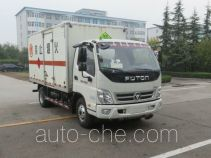 Foton BJ5049XRQ-FD flammable gas transport van truck