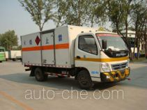 Foton BJ5049XWY-KS dangerous goods transport vehicle