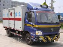 Foton BJ5069XRQ-FA flammable gas transport van truck