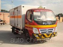 Foton BJ5071XWY-1 dangerous goods transport vehicle