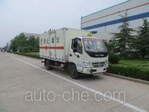 Foton BJ5079XRQ-FA flammable gas transport van truck