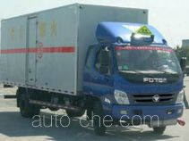 Foton BJ5081XQY-S4 explosives transport truck