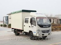 Foton BJ5089VEDEA-5 soft top box van truck