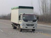 Foton BJ5129VJBFA-3 soft top box van truck