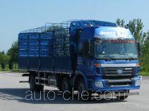 Foton Auman BJ5162CCY-XA грузовик с решетчатым тент-каркасом