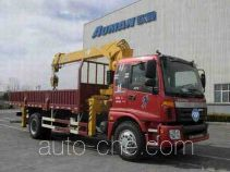 Foton Auman BJ5163JSQ-AB truck mounted loader crane