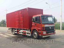 Foton Auman BJ5163XXY-XZ box van truck