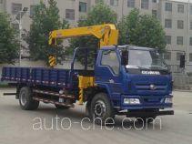 Foton BJ5165JSQ-1 truck mounted loader crane