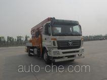 福田牌BJ5190THB型混凝土泵车