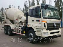 Foton Auman BJ5253GJB-AB concrete mixer truck