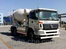 欧曼牌BJ5253GJB-XF型混凝土搅拌运输车