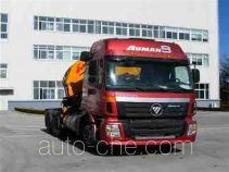 Foton Auman BJ5253SCD-2 tractor unit mounted loader crane