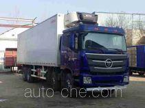Foton Auman BJ5319XLC-AA refrigerated truck