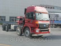 Foton Auman BJ5312GYY-XA oil tank truck chassis