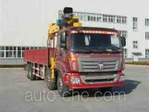 Foton Auman BJ5313SCD-1 truck mounted loader crane