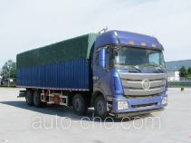 Foton Auman BJ5319CPY-2 soft top box van truck