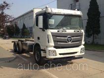 Foton Auman BJ5339THB-XB concrete pump truck chassis