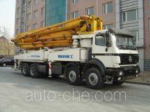 Foton Auman BJ5380THB44 concrete pump truck