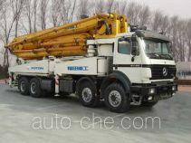 Foton Auman BJ5390THB45 concrete pump truck