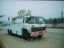 Power engineering work vehicle
