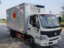 Yajie BQJ5080XYY medical waste truck