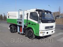 Self-loading garbage compactor truck (packer truck)