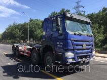 Yajie BQJ5310ZXXE5 detachable body garbage truck