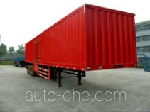 Yanshan box body van trailer
