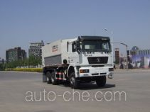 Cement spreader truck