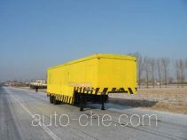 Emergency power supply trailer