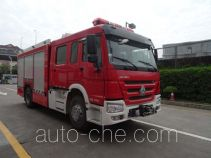 Yinhe BX5170GXFPM40/HW4 foam fire engine