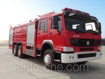 银河牌BX5260TXFGL100/HW4型干粉水联用消防车