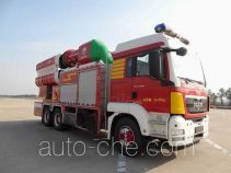 Yinhe BX5260TXFPY218/M smoke exhaust fire truck