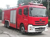 银河牌BX5280TXFGP110UD型干粉泡沫联用消防车