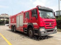 Yinhe BX5330GXFPM160/HW5 foam fire engine