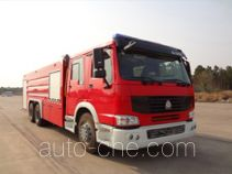 Haichao BXF5320GXFPM160 foam fire engine