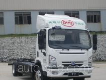 BYD BYD111017GBEVD electric truck chassis